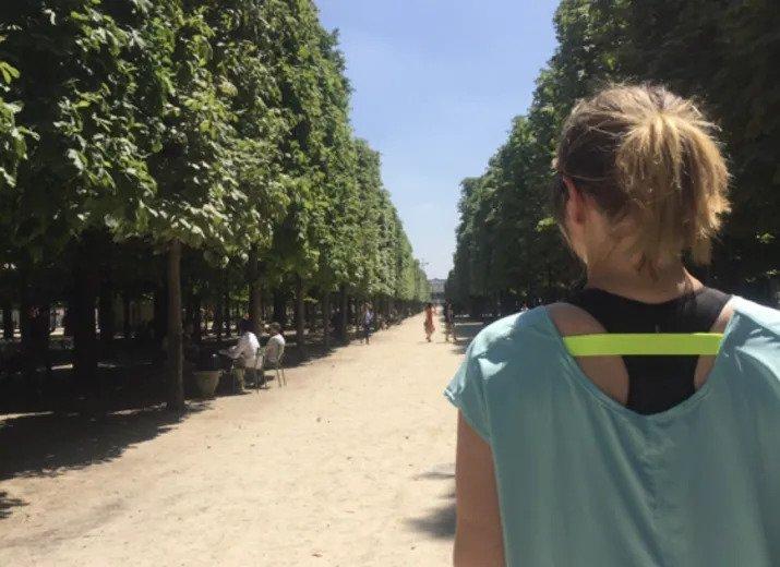 Charlotte Pruvot court contre la Maladie de Lyme
